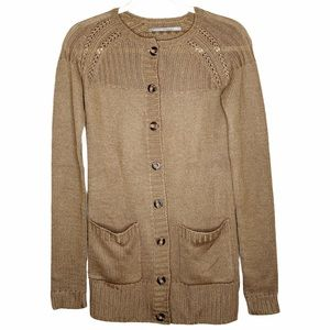 NEW RUBBISH Button Front Cardigan Sweater S